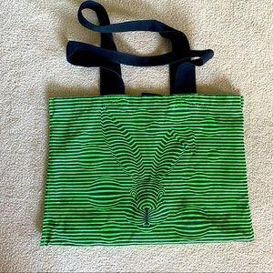 neon green tote 🐇 🌿 Animal testing free,